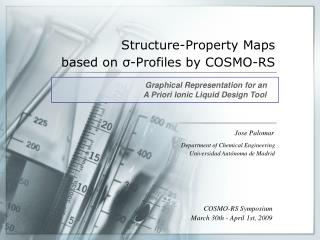 Structure-Property Maps  based on s-Profiles by COSMO-RS