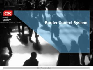 Border Control System
