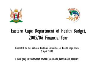 Eastern Cape Department of Health Budget, 2005/06 Financial Year