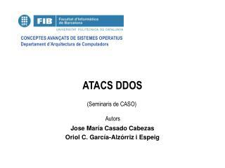 ATACS DDOS