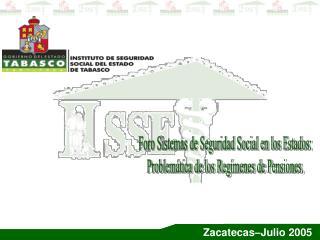 Zacatecas–Julio 2005