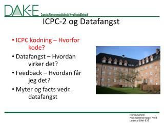 ICPC-2 og Datafangst