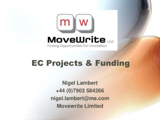 EC Projects & Funding