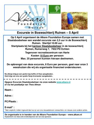 Excursie in Boswachterij Ruinen – 5 April