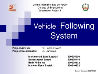 Vehicle  Following System