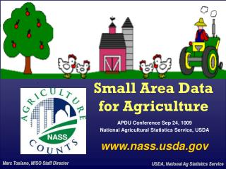 Small Area Data for Agriculture