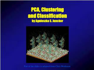 PCA, Clustering and Classification by Agnieszka S. Juncker