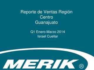Reporte de Ventas Región  Centro Guanajuato