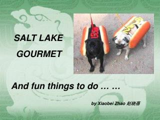 SALT LAKE   GOURMET And fun things to do � � by Xiaobei Zhao  ???