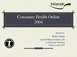 Consumer Health Online 2004