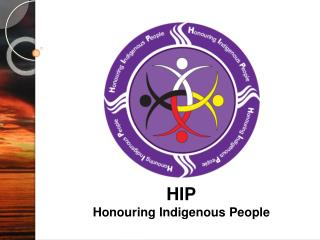 HIP Honouring Indigenous People