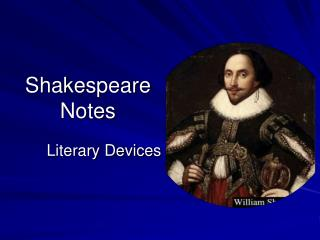 Shakespeare Notes