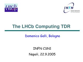 The LHCb Computing TDR