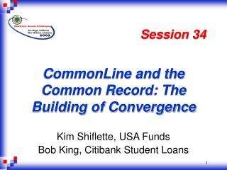 CommonLine and the Common Record: The Building of Convergence