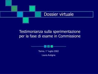 Dossier virtuale
