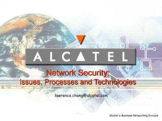Alcatel e-Business Networking Division