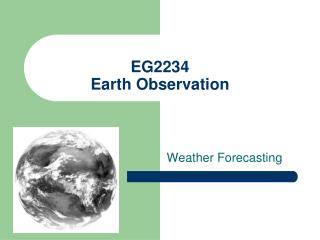 EG2234 Earth Observation