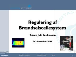 Regulering af Brændselscellesystem  Søren Juhl Andreasen 24. november 2009