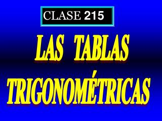 CLASE  215
