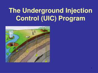 The Underground Injection Control (UIC) Program