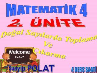 MATEMATİK 4