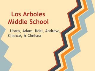 Los Arboles  Middle School