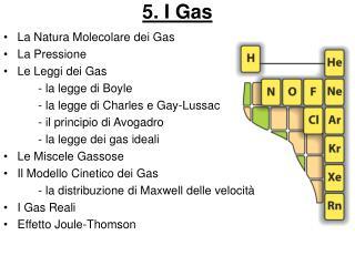 5. I Gas