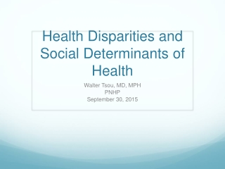 Income Support Policies and Disparities in Health