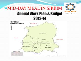 MID-DAY MEAL IN SIKKIM