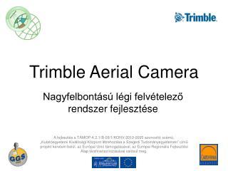 Trimble Aerial Camera