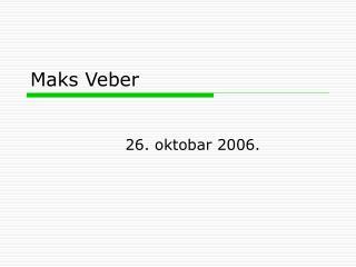 Maks Veber