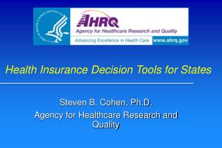 Health Insurance Decision Tools for States