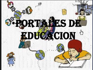 PORTALES DE EDUCACION