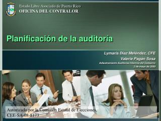 Planificaci�n de la auditor�a