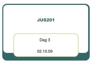 JUS201