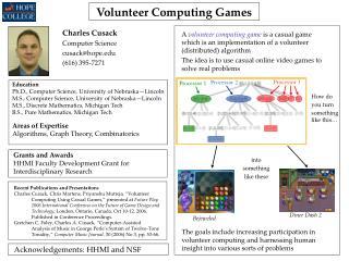 Volunteer Computing Games
