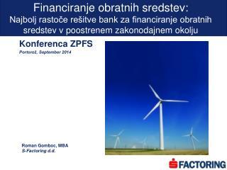 Financiranje obratnih sredstev: