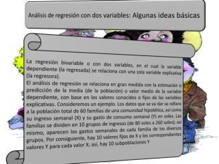 Análisis de regresión con dos variables: Algunas ideas básicas