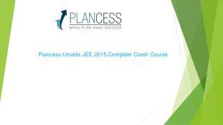 IIT JEE Crash Course