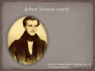 Johan Strauss stariji
