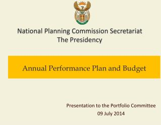 Annual Performance Plan and Budget