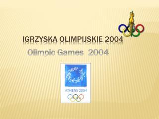Igrzyska olimpijskie 2004