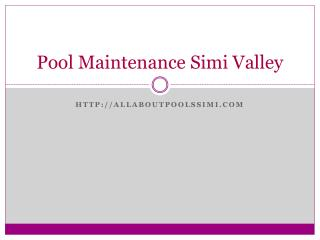 pool plumbing Simi Valley