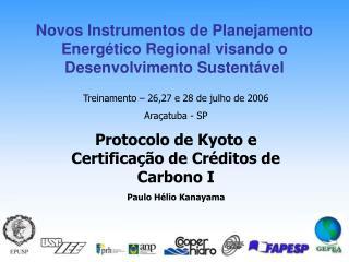 Novos Instrumentos de Planejamento Energ tico Regional visando o Desenvolvimento Sustent vel