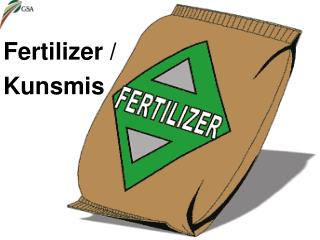 Fertilizer /  Kunsmis