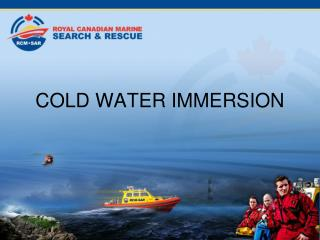 COLD WATER IMMERSION
