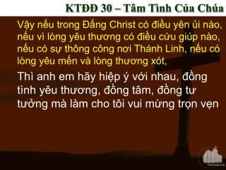KT?? 30 � T�m T�nh C?a Ch�a