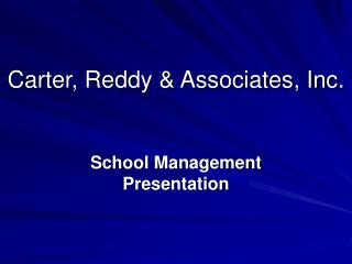 Carter, Reddy & Associates, Inc.
