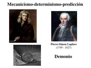 Mecanicismo-determinismo-predicción