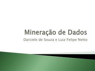 Minera��o de Dados